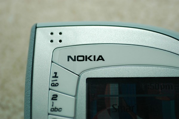 Nokia 7600 earpiece