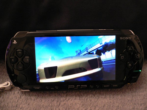 Sony PlayStation Portable (PSP) car racing