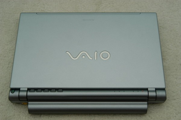 Sony Vaio VGN-T17GP Top View