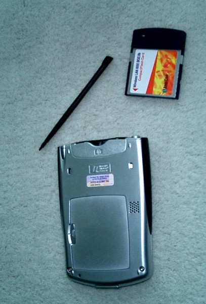 iPaq h2210 with card picture 2