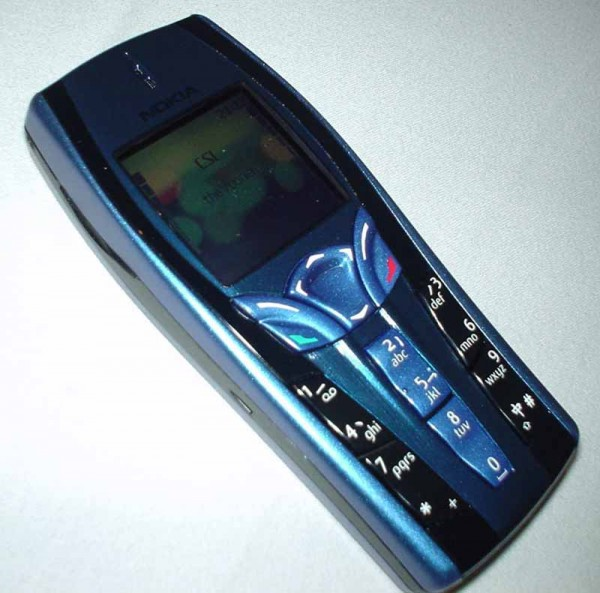 Nokia 7250 Mobile Phone front 2