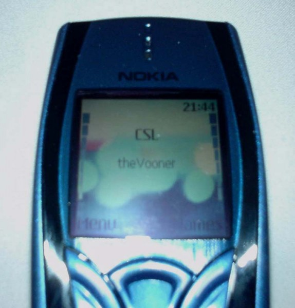 Nokia 7250 Mobile Phone front 3