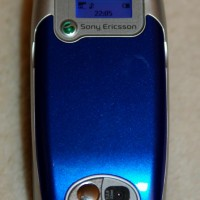Sony Ericsson Z600 Mobile Phone Top